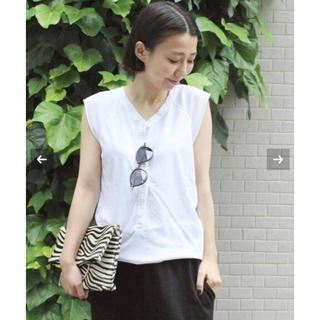 ドゥーズィエムクラス(DEUXIEME CLASSE)のDeuxieme Classe Henley テンジクTシャツ(カットソー(半袖/袖なし))