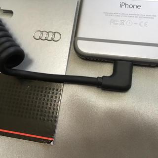 AUDI - アウディ純正 ライトニングコネクタ iPhone iPad iPod