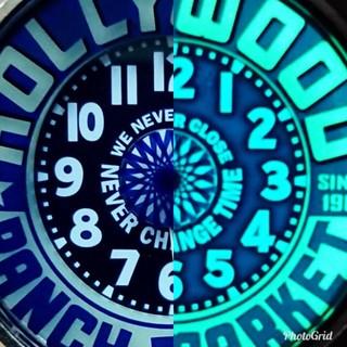ハリウッドランチマーケット(HOLLYWOOD RANCH MARKET)の★二代目★ネオンウォッチ★ハリウッドランチマーケット★blueblue★(腕時計(アナログ))