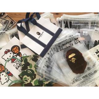 アベイシングエイプ(A BATHING APE)のエイプ ビニール 紙袋 ショッパー まとめ売り(ショップ袋)