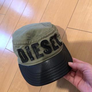 ディーゼル(DIESEL)のディーゼルキッズ キャスケット(帽子)