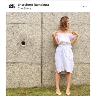 シェル(Cher)のcher shore インポートワンピ(ひざ丈ワンピース)
