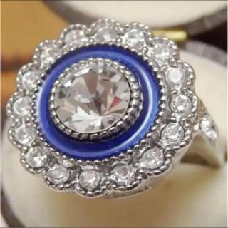 即購入OK【BR189】個性的ゴージャスミル打ちシルバーカラーリング指輪(リング(指輪))