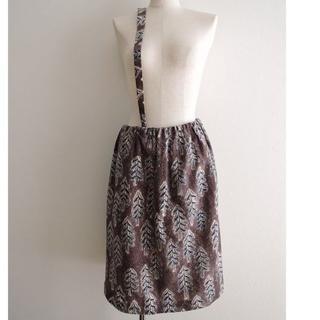 ミナペルホネン(mina perhonen)のお値下げ!ミナペルホネン 「snow candle」 スカート 36サイズ(ひざ丈スカート)