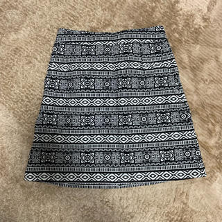 ローリーズファーム(LOWRYS FARM)のタイトスカート ネイティブ柄 LOWRYSFARM(ミニスカート)