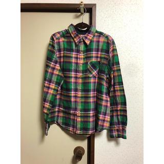 キューブシュガー(CUBE SUGAR)のCUBESUGAR チェックシャツ(シャツ/ブラウス(長袖/七分))