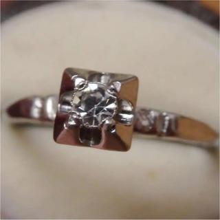 即購入OK♡V082昭和レトロなシルバーカラーリングヴィンテージ指輪 (リング(指輪))