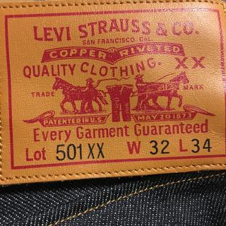 リーバイス(Levi's)のLevi's501XX(デニム/ジーンズ)