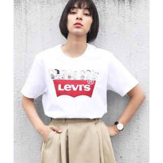 リーバイス(Levi's)のLevi's PEANUTSスヌーピーTシャツ(Tシャツ(半袖/袖なし))
