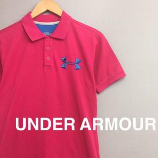 アンダーアーマー(UNDER ARMOUR)の【美品】アンダーアーマー UNDER ARMOUR ポロシャツ メンズ Sサイズ(ポロシャツ)