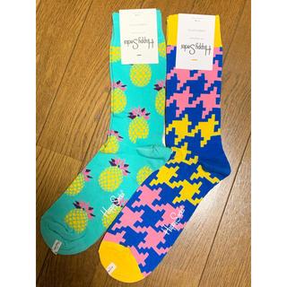 ビームス(BEAMS)のハッピーソックス happy socks 2足 定価2,808円(ソックス)