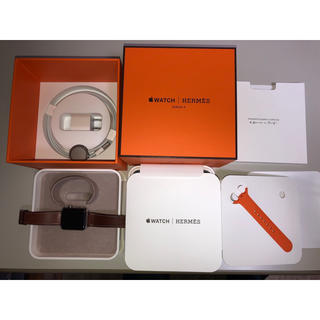 エルメス(Hermes)のノーサイド2001様専用 Apple Watch Series3 HERMES(腕時計(デジタル))
