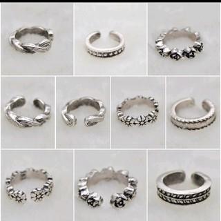 490 デザイン豊富!全12種類 トゥリング 足指輪(リング(指輪))