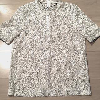 ジーユー(GU)のGU レース トップス 半袖(シャツ/ブラウス(半袖/袖なし))