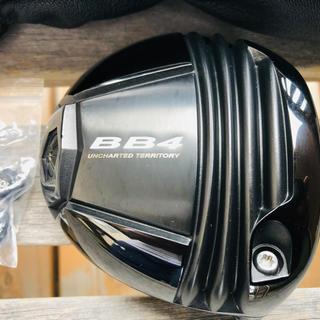 BB4  ドライバーヘッド 超美品スリーブ、ウェイト付(クラブ)
