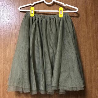 ハニーズ(HONEYS)のチュールスカート スカーと(ひざ丈スカート)
