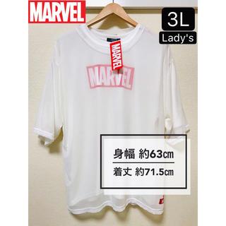 マーベル(MARVEL)の【特別価格】新品タグ付き 大きいサイズ3L Lady's MARVEL Tシャツ(Tシャツ(半袖/袖なし))