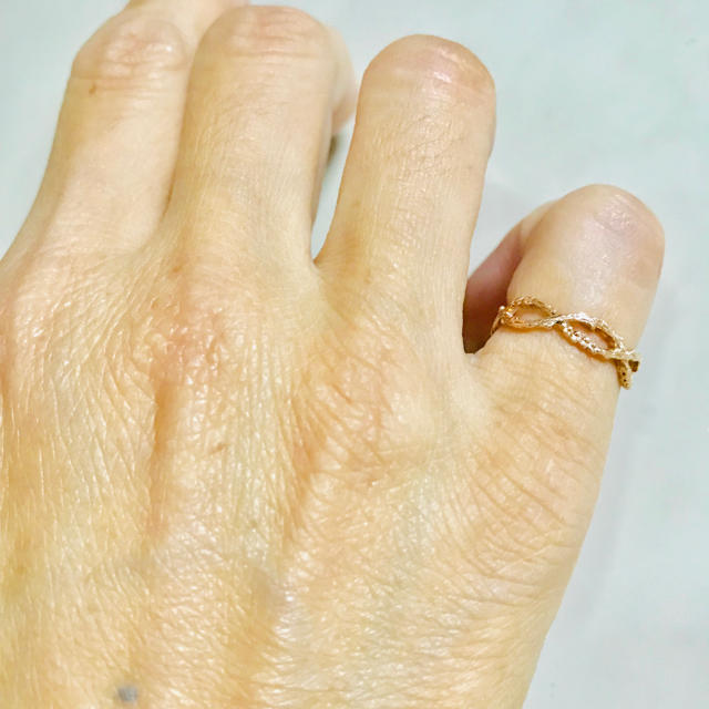 agete(アガット)のアガット   ピンキーリング レディースのアクセサリー(リング(指輪))の商品写真
