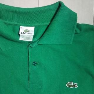 LACOSTE - ラコステ ポロシャツ メンズ グリーン