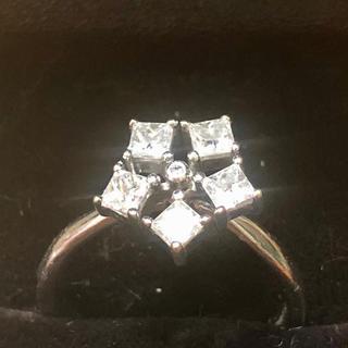デビアス(DE BEERS)のデビアス Corsage ダイヤモンドリング K18WG(リング(指輪))