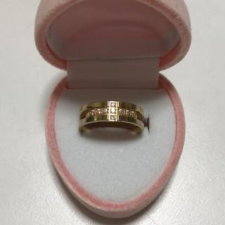 クロスデザイン ピンキーリング 3号 サージカルステンレス(リング(指輪))