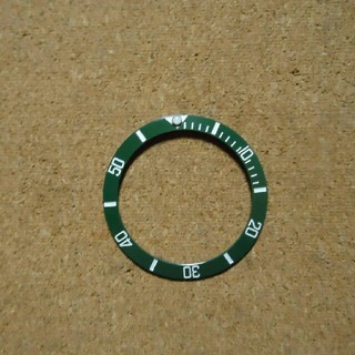 セイコー(SEIKO)の社外品 SEIKO ボーイ用 セラミック製ベゼルインサート サブタイプ グリーン(その他)