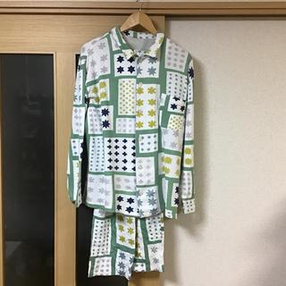 ソウソウ(SOU・SOU)のSOUSOU 睡眠科学 パジャマ ワコール 大雪 メンズ(シャツ)