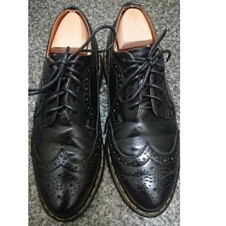 ドクターマーチン(Dr.Martens)のドクターマーチン Dr.Martens ウイングチップ イエローステッチ 革靴(ドレス/ビジネス)
