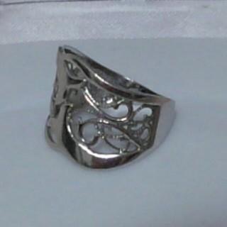 確認用 14金ホワイトゴールドリング(リング(指輪))