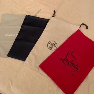 クリスチャンルブタン(Christian Louboutin)のハイブランド 靴保存袋 4種類(ショップ袋)