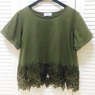 アルシーヴ(archives)の裾レースカット❁(カットソー(半袖/袖なし))