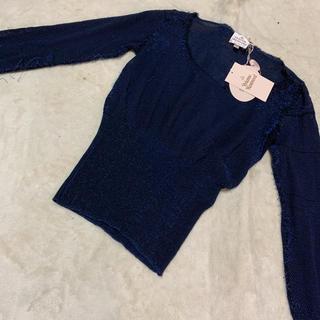 ヴィヴィアンウエストウッド(Vivienne Westwood)の新品未使用タグ付き ヴィヴィアンウエストウッド London ブロークン ニット(ニット/セーター)