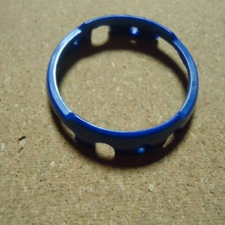 セイコー(SEIKO)の社外品 SEIKO H558-5000,5009用の外胴 プラスチック製  青 (その他)