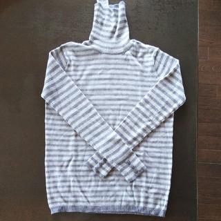 アルファキュービック(ALPHA CUBIC)のALPHA CUBIC  タートルネックセーター(ニット/セーター)