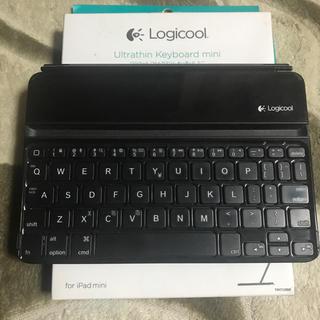 Logicool ウルトラスリムキーボード ミニ iPad mini用(その他)