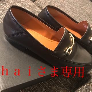 コーチ(COACH)のhai様専用 秋コーデに♡希少!新品coach本革レディースローファFG3110(ローファー/革靴)