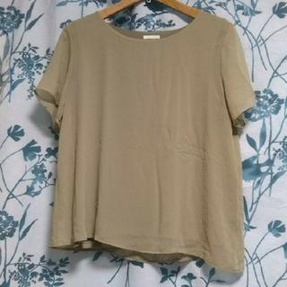 ジーユー(GU)のシフォントップス(シャツ/ブラウス(半袖/袖なし))