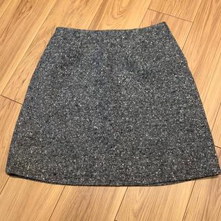 ルシェルブルー(LE CIEL BLEU)のルシェルブルー  ネップツイードミニスカート 38(ミニスカート)