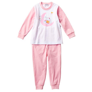 familiar - ☆ファミリア リアちゃん柄 パジャマ 120㎝ ピンク☆可愛い 女の子