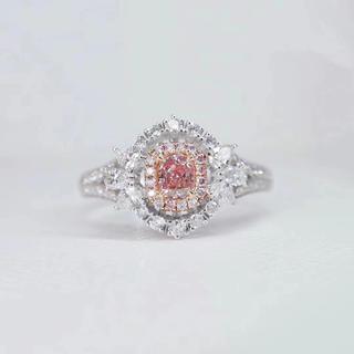 Giaつきファンシーライトピンク指輪(リング(指輪))