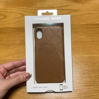 マイケルコース(Michael Kors)のマイケルコース iPhonex iPhonexsケース(iPhoneケース)