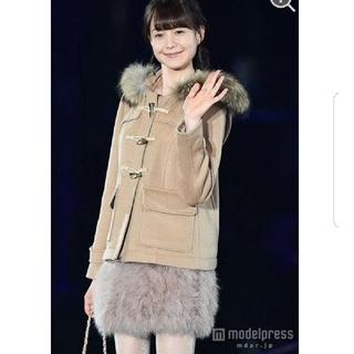 ニーナミュウ(Nina mew)の新品タグ付♡トリンドル玲奈着用♡フェザースカート♡(ミニスカート)