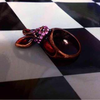 血うさぎのリング(リング(指輪))