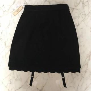 イートミー(EATME)の【新品未使用】EATME♡ガーター付きスカート(ミニスカート)