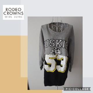 ロデオクラウンズワイドボウル(RODEO CROWNS WIDE BOWL)の【ロデオクラウンズワイドボウル】ワンピース(ミニワンピース)