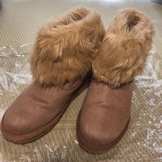 ヴァンズ(VANS)のムートンブーツ VANS (24cm)  22.5cm - 23cm(ブーツ)