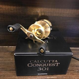 18 カルカッタコンクエスト 301 左 新品未使用(リール)