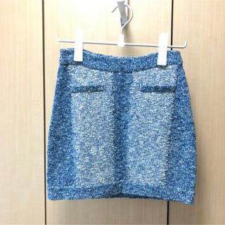 イエナ(IENA)のrag&born /knit skirt(ミニスカート)