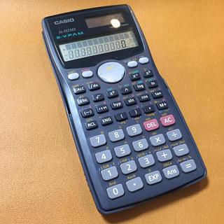 カシオ(CASIO)のCASIO 関数電卓 (ソーラー/電池 2 way電源)(オフィス用品一般)