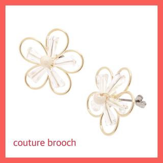 クチュールブローチ(Couture Brooch)の新品・タグ付【couture brooch】ワイヤーチェリーブロッサムピアス(ピアス)